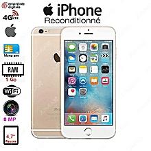 iphone 6 - 4.7 pouces - 64gb rom - 1 gb ram - 4g lte - wifi - 8 mpx - or/ article reconditionné - garantie 3 mois et 2 semaines