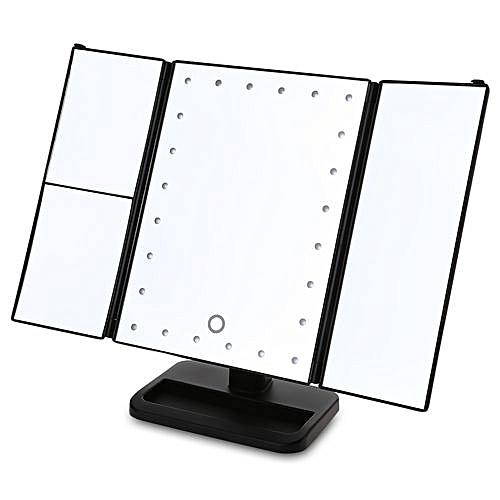 24 led a illumin le miroir cosm tique de meuble lavabo de for Miroir de la musique