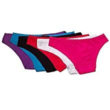 Lot De 6 Slips Sans Trace - Multicolore c7bad49d149