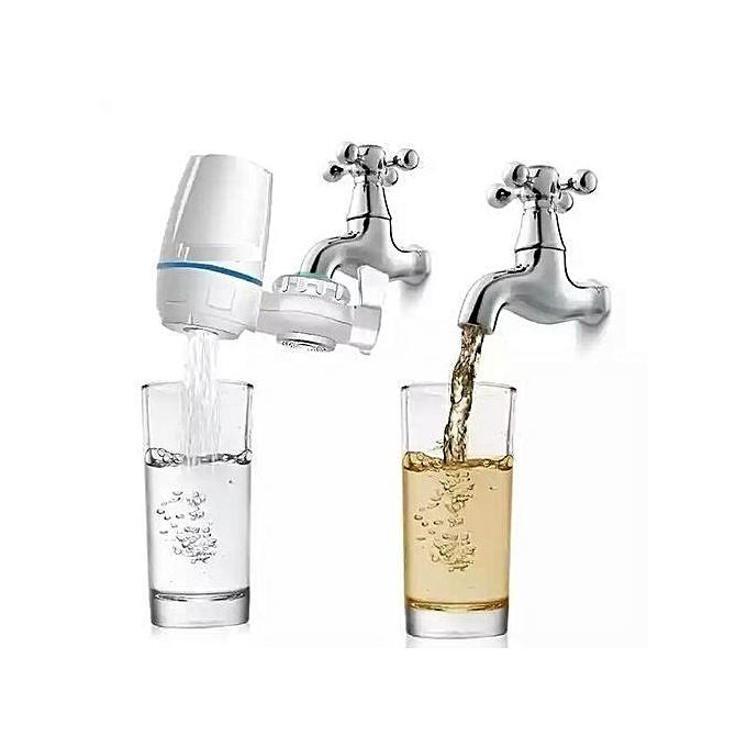 sans marque filtre eau domestique avec 7 niveaux purification d 39 eau blanc prix pas cher. Black Bedroom Furniture Sets. Home Design Ideas