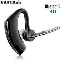 v8 wireless bluetooth earphone car driver handsfree bass earbuds music earphone hands free stereo for samsung iphone xiaomi with microphone xyx-k