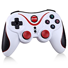 gen game s5 wireless joystick gamepads gaming controller remote control bluetooth for android ios iphone tablet pc tv box holder fcshop