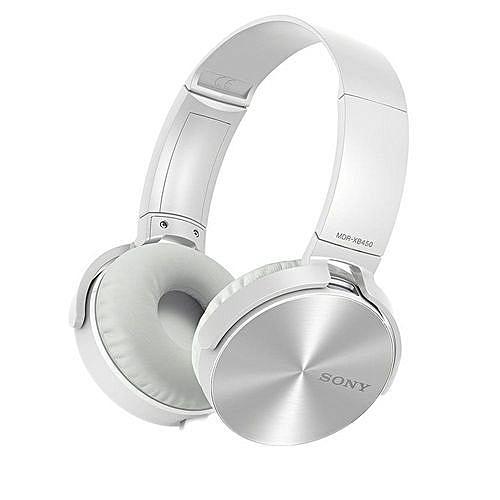 Sony Casque Audio Bluetooth Mdr Xb750 Bt Blanc Prix Pas Cher