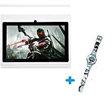 "tablette enfant a32 - 7""- 1.3 ghz - 8 gb - 1 go - etui + 1 montre musicale lumineuse offerte"