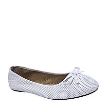 sports shoes 3d6b3 6a021 Chaussures Dame - Ballerine Tendance - Blanc