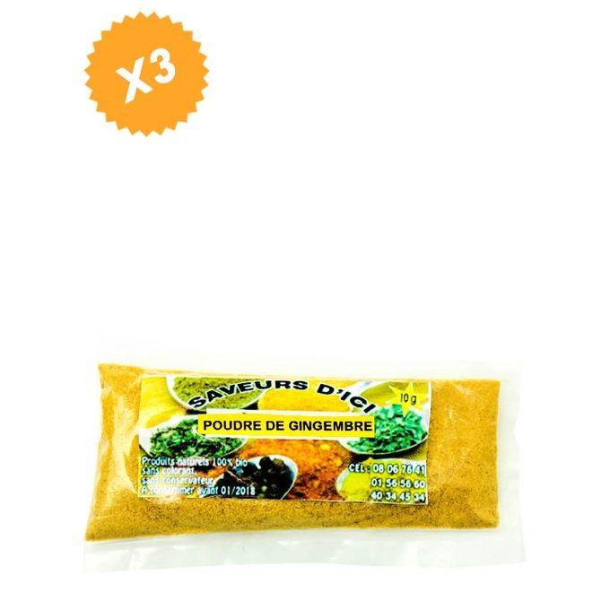 Poudre De Gingembre - 10 G X 5 - Multicolore