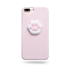 """africanmall store squishy 3d animal cat panda seal soft tpu gel case cover for iphone7 plus 5.5"""""""