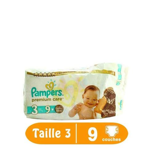 Pampers couches b b premium care taille 3 9 couches acheter en - Seche linge condensation petite taille ...