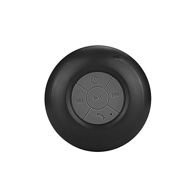 Generic Generic Hands-free Waterproof Wireless Bluetooth Mini Speaker Mic Suction For Shower A1 au Côte d'Ivoire à prix pas cher  | Promotion  Anniversaire