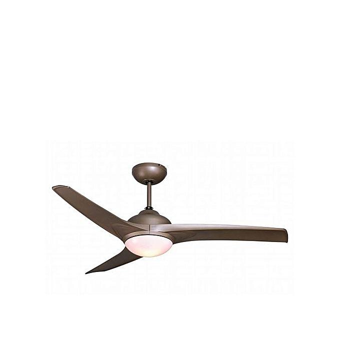 inspire by leroy merlin ventilateur plafonnier clairage gris 42 w garantie 2 ans. Black Bedroom Furniture Sets. Home Design Ideas