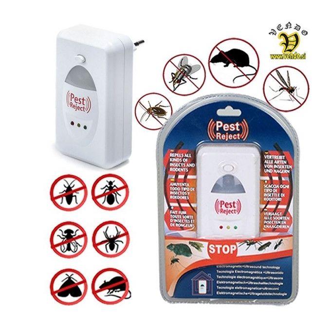 Répulsif Electronique - Anti Rongeurs Et Insectes - Blanc