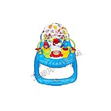 Marche Bébé Classique Avec Tablette De Jeux Musicale (Design Peut Changer)  - Bleu 2be59915391