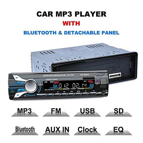 kokobuy lecteur mp3 avec panneau bluetooth amovible pour voiture dvd sd usb fm blanc au. Black Bedroom Furniture Sets. Home Design Ideas