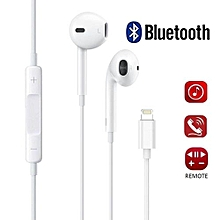 ecouteurs apple, les écouteurs avec microphone et le casque à isolation phonique compatibles iphone x / 10 iphone 8/8 plus et iphone 7/7 plus (connectivité bluetooth) bdz