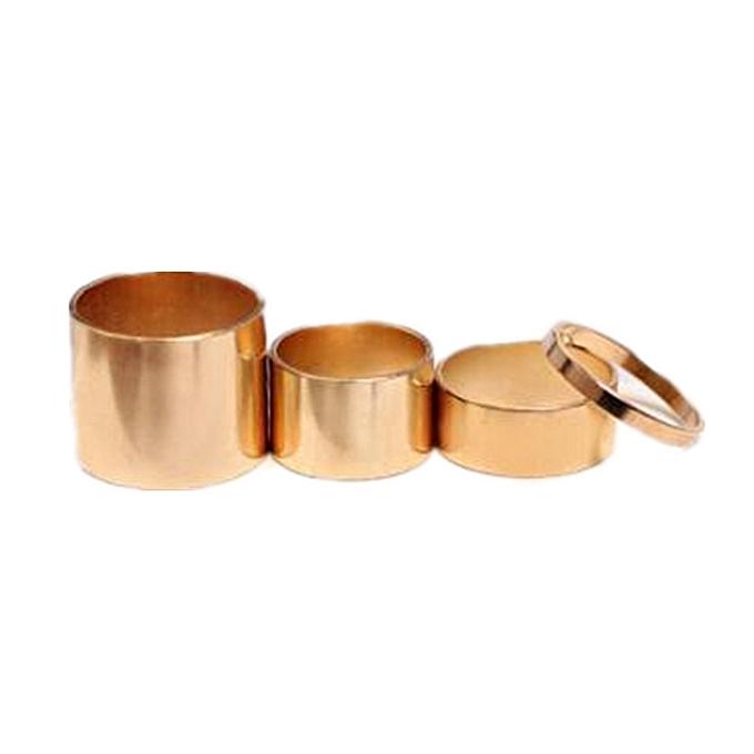 Generic Metal 4-piece Ring Knuckle Ring – Gold au Côte d'Ivoire à prix pas cher  | Promotion  Anniversaire