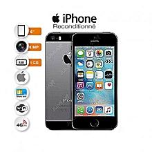 "iphone 5s - 4"" - 16 go - ios 7 - isight 8 mégapixels flash true tone - space gray -  reconditionné - garantysmart 3 mois"