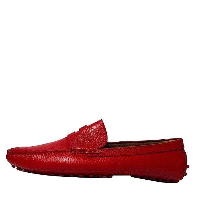 F.Beltoni Mocassins Chaussure Bateau Details Moustache - Rouge ... 5610998e0de2