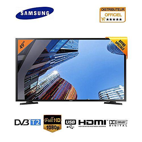 tv led 49 pouces full hd 1920 x 1080 hdmi x2 usb x1. Black Bedroom Furniture Sets. Home Design Ideas