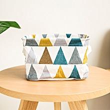 modish foldable colors storage bin closet toy box container organizer fabric basket blue