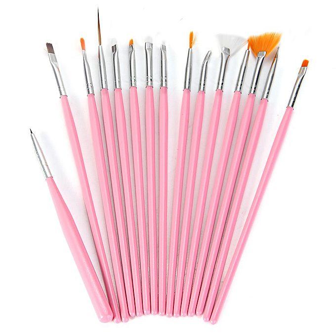 15pcs nail art design peinture outil de dessin stylo for Manche d un pinceau