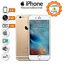 "iphone 6 plus - 5.5"" - 1go ram - 16go rom - 12 mpx - gold - garantie 3 mois - reconditionné"