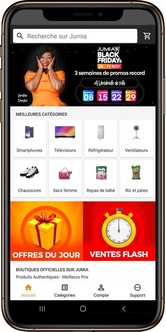 Application jumia CI