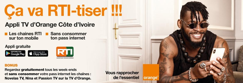 Orange Application TV