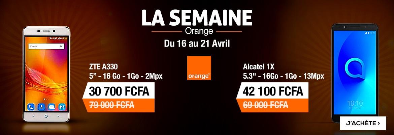La semaine orange
