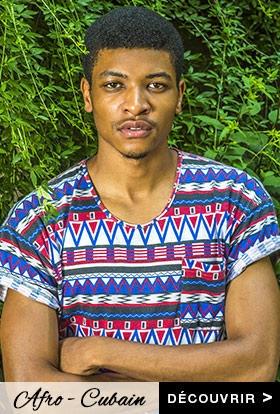 Look Homme Afro-Cubain