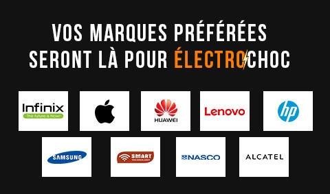 Vos marques favorites pour Jumia Electrochoc