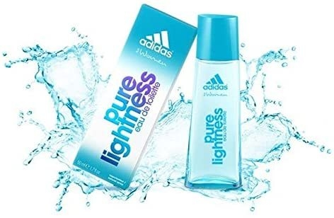 Image result for Adidas Eau De Toilette Pure Lightness - 50ml