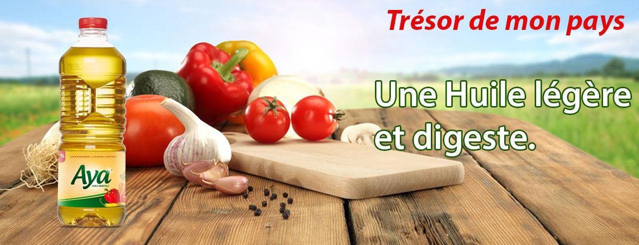Aya Bouteille D Huile Aya Sans Cholesterol 0 9 L Prix Pas
