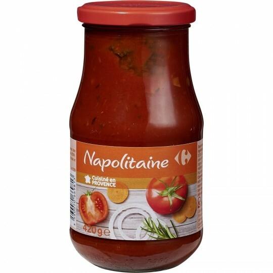 Sauce Napolitaine CARREFOUR