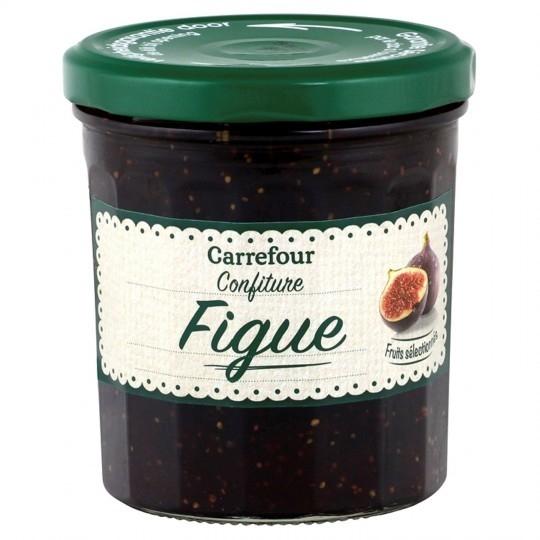 Confiture figue CARREFOUR