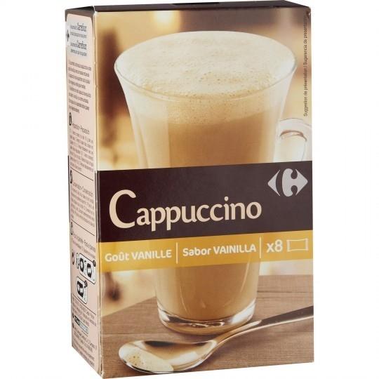 Cappuccino goût vanille CARREFOUR