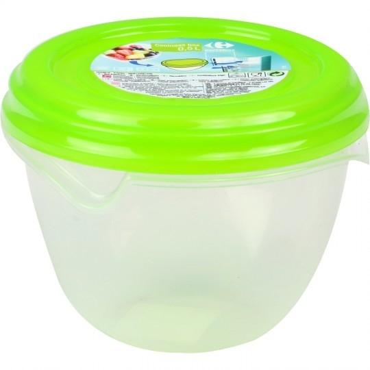 Boite Coolness box 0,5 l vert CARREFOUR