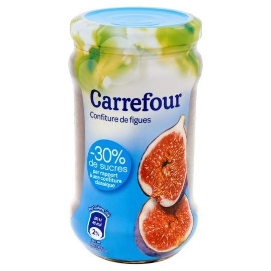 Confiture figues CARREFOUR