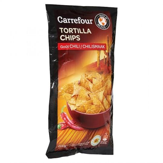 Tortillas goût chili CARREFOUR