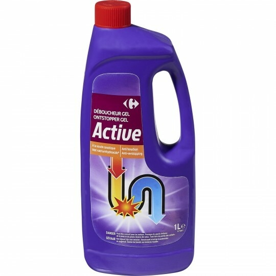 Déboucheur gel Active CARREFOUR