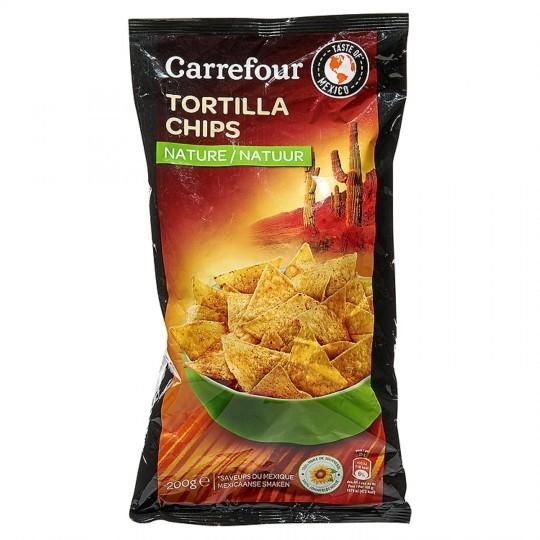 Tortillas nature CARREFOUR