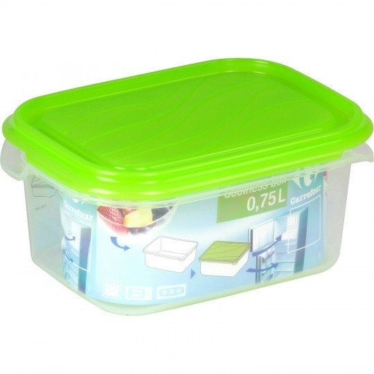 Boite Coolness box 0,75 l CARREFOUR