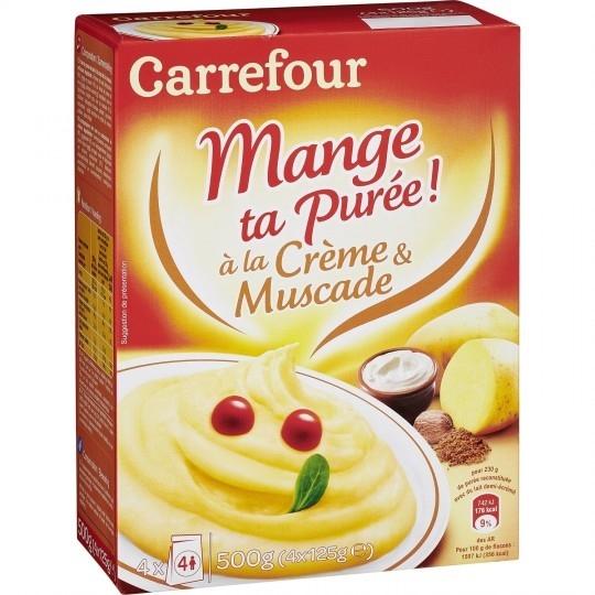 Purée en flocons crème et muscade CARREFOUR