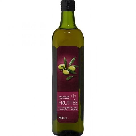 Huile d'olive vierge extra fruitée CARREFOUR