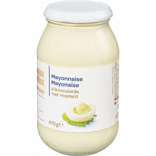 Mayonnaise à la moutarde CARREFOUR