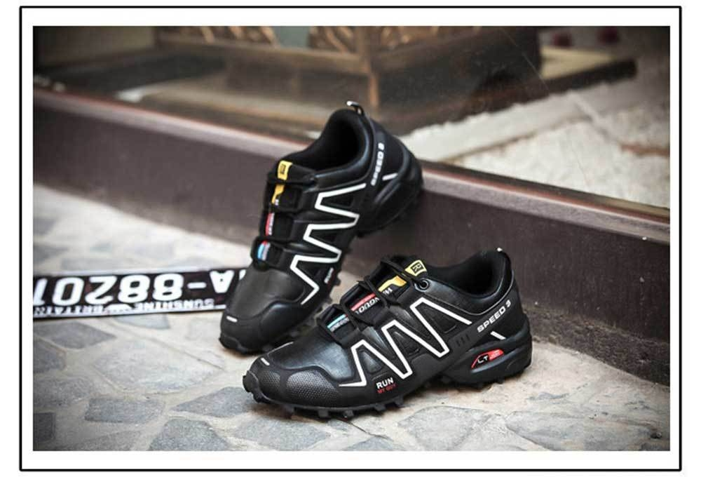 Outdoor Casual Color Block Slip Resistance Sports Shoes for Men