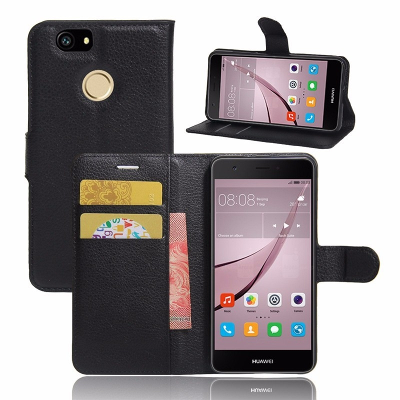 PU Leather Back Cover Phone Case For Huawei Nova CAN-L11 CAN-L12 CAN-L01 CAN-L02 CAN-L03 CAN-L13 CAZ-AL10 Case 5.0 Inch Flip Bag (2)