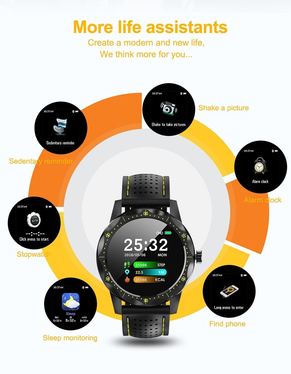 COLMI SKY 1 Smart Watch Men IP68 Waterproof Activity Tracker Fitness Tracker Smartwatch Clock BRIM for android iphone IOS phone 12