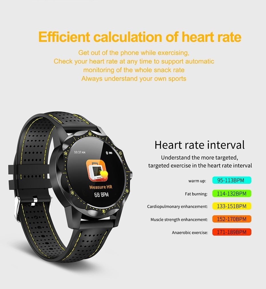 COLMI SKY 1 Smart Watch Men IP68 Waterproof Activity Tracker Fitness Tracker Smartwatch Clock BRIM for android iphone IOS phone 08