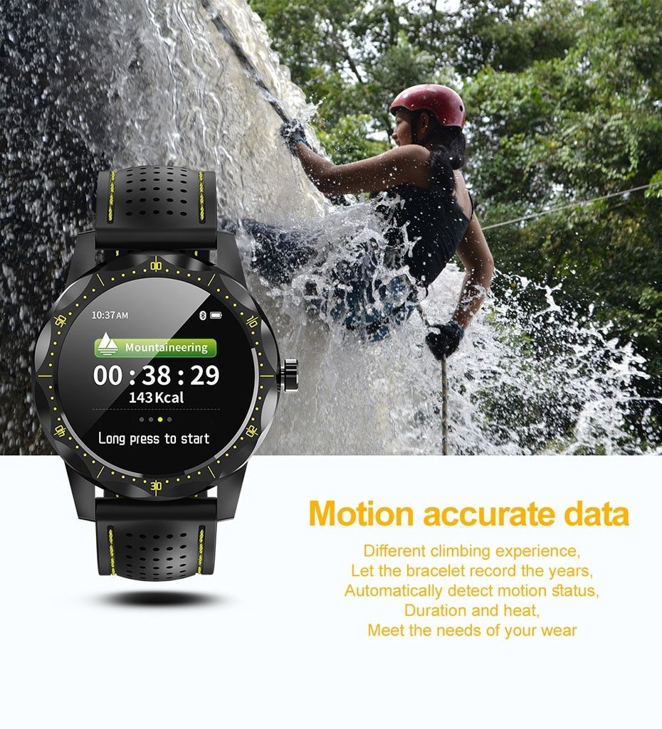 COLMI SKY 1 Smart Watch Men IP68 Waterproof Activity Tracker Fitness Tracker Smartwatch Clock BRIM for android iphone IOS phone 04