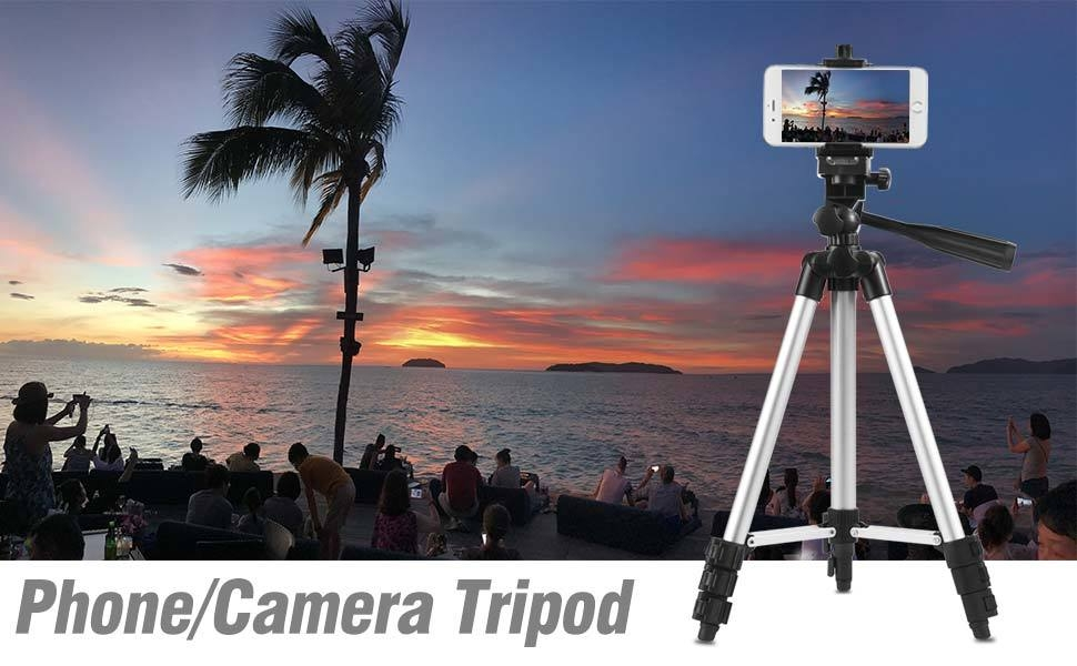 camera tabletop Lightweight trip tripod Folding Compact tall long sturdy Hiking outdoor travel